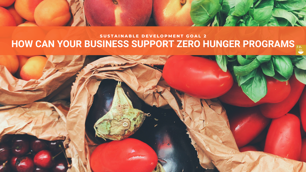 SDG2 Business Support for Zero Hunger Programs