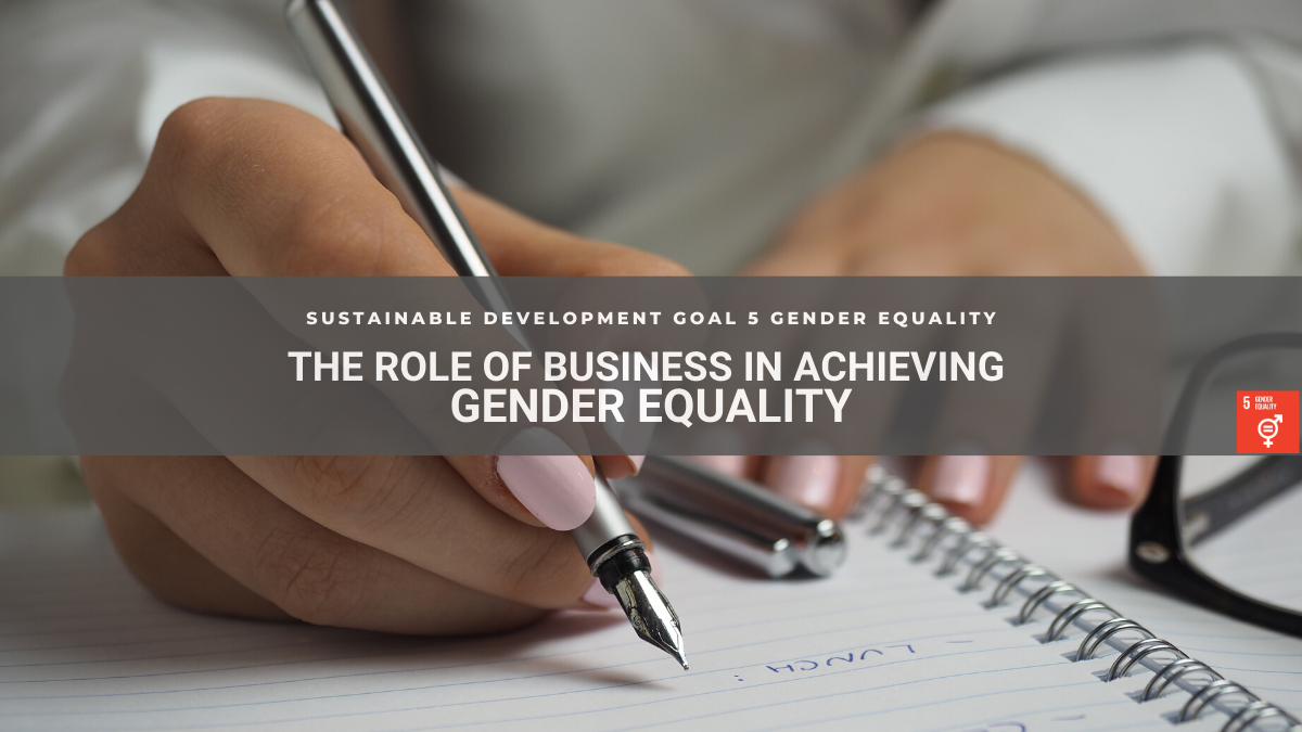 SDG5 Business support for gender equality