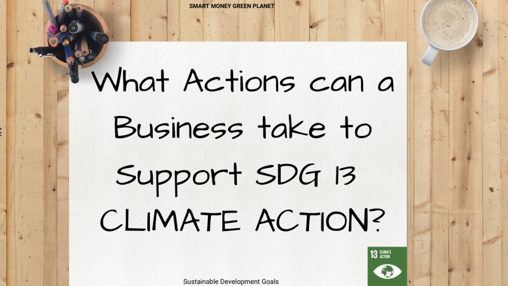 SDG13 Business Solutions to Climate Change