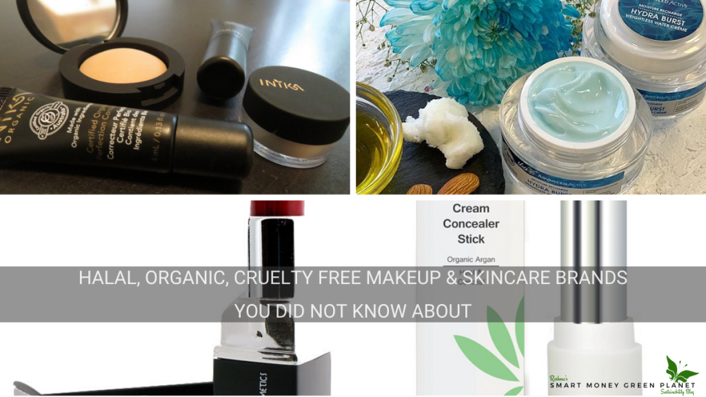Organic Halal Makeup and Skincare Brands