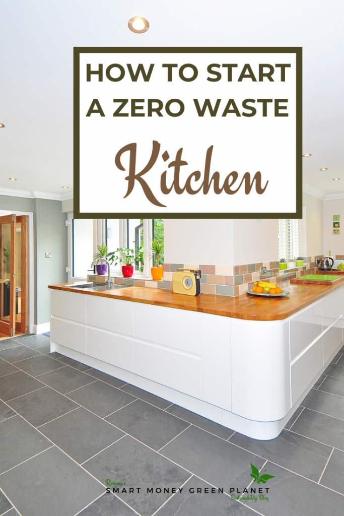 Share our post on how to start a zero waste kitchen on Pinterest.