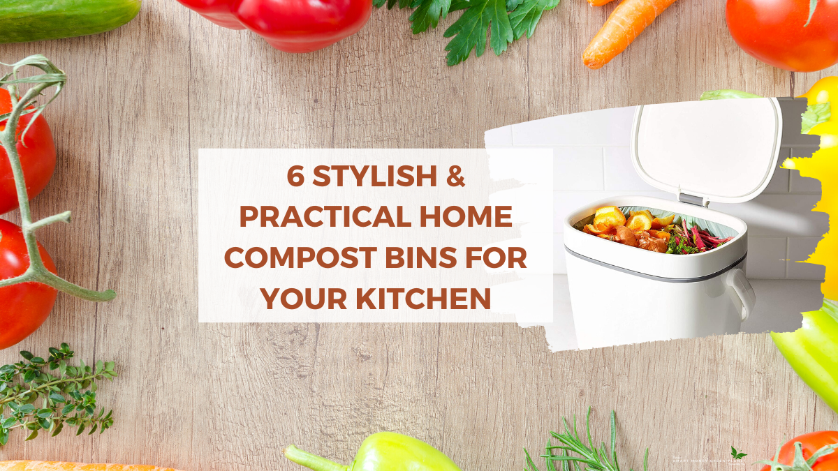 6 Practical Kitchen Counter top Food Compost Bins You Will Love