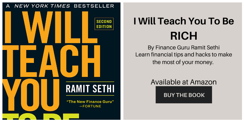 Book by Ramit Sethi, I Will Teach You to Be Rich