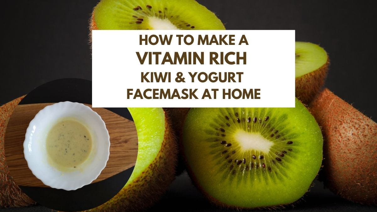 Kiwifruit Facemask with Yogurt